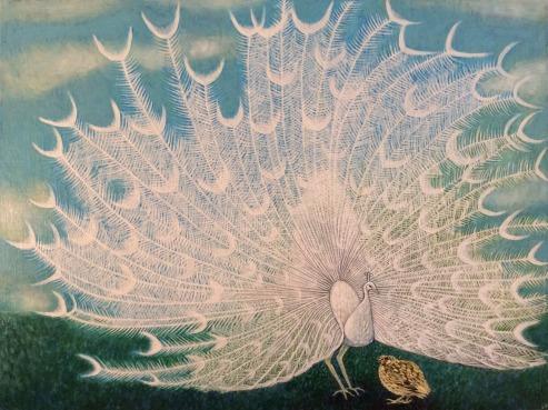 The Peacock and the Quail ipad